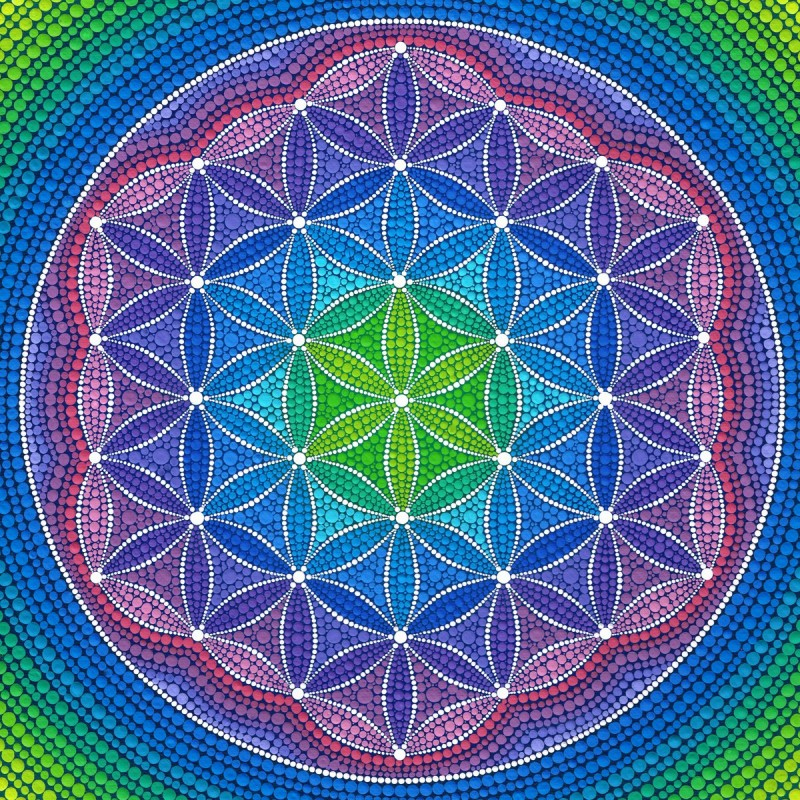 Mandala Diamond Pain...