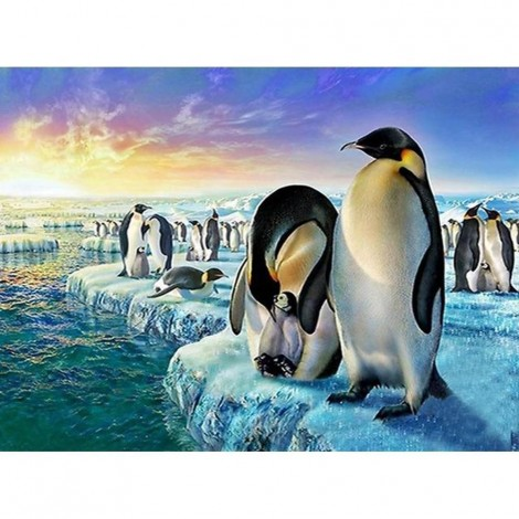 Penguins Diamond Painting Kit