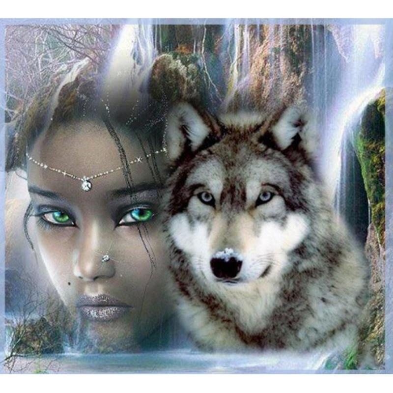 Beauty And Wolf Diam...