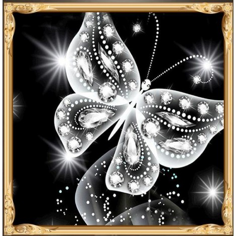 Butterfly Special Shaped Diamond Painting Kit