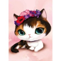 5d Cat Diamond Painting K...