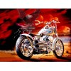 Harley Eagle Flight Diamond Painting Kit